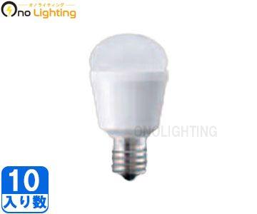 【パナソニック】(10個セット)LDA3L-H-E17/25E/W [ LDA3LHE1725EW ]LED電球 小形電球タイプ3.4W 電球色相当下方向タイプ E17口金旧品番:LDA5L-H-E17/W[LDA5LHE17W]【返品種別B】