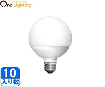 【東芝】(10個セット)LDG11N-G/100W [ LDG11NG100W ]ボール形タイプ E26 調光不可ボール電球100W形相当 昼白色 広配光【返品種別B】