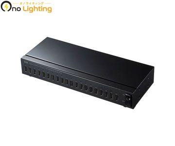 【法人限定】【サンワサプライ】USB-2HCS20 [ USB2HCS20 ]USB2.0 20ポートハブ【返品種別B】