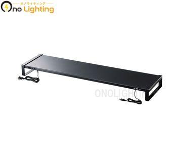 【法人限定】【サンワサプライ】MR-LC206BK [ MRLC206BK ]電源タップ USBハブ付き 机上ラックW1000mm ブラック【返品種別B】