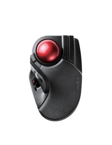 【法人限定】M-HT1DRBK [ MHT1DRBK ]【エレコム】トラックボールマウス 大玉 8ボタンチルト機能 無線 ブラック【返品種別B】