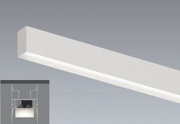 【法人限定】ERK9992W【遠藤】調光 調色間接照明 電源内蔵/リニア32本体のみ40W直付・吊下兼用【返品種別B】