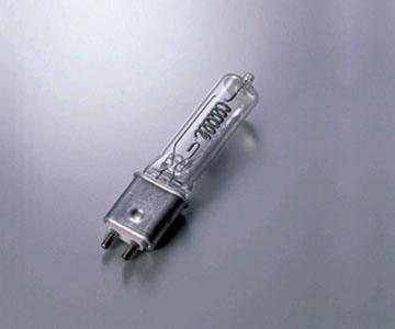 【ウシオライティング】(10個セット)JCV100V500WCM ハロゲンランプ標準タイプ ピンタイプ G9.5口金TV・写真スタジオ/舞台照明用【返品種別B】