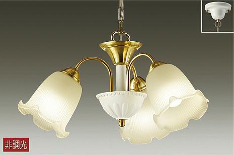 【大光】DCH-39453 YE [ DCH39453YE ]シャンデリア 電球色 非調光ランプ付 LED交換可能 DAIKO【返品種別B】