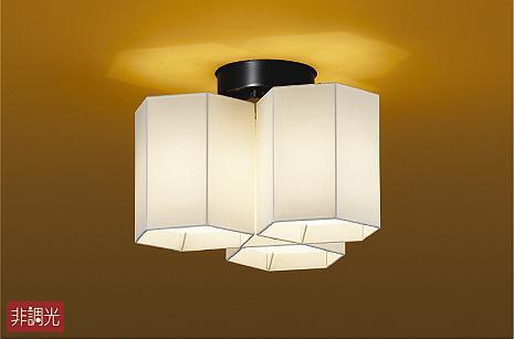 【大光】DCH-40584 Y [ DCH40584Y ]シーリングライト 和風 電球色 非調光ランプ付 LED交換可能 DAIKO【返品種別B】