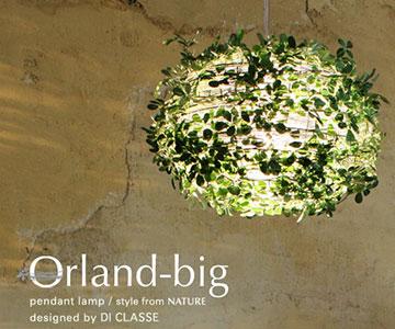 【DI CLASSE】LP3005GRペンダントランプ Orland-bigオーランド ビッグ ディクラッセ【返品種別B】