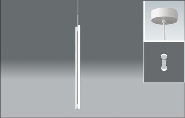 【法人限定】ERP7279W【遠藤】吹抜ケ用縦長ペンダント 40Wタイプ 2灯用4000K【返品種別B】
