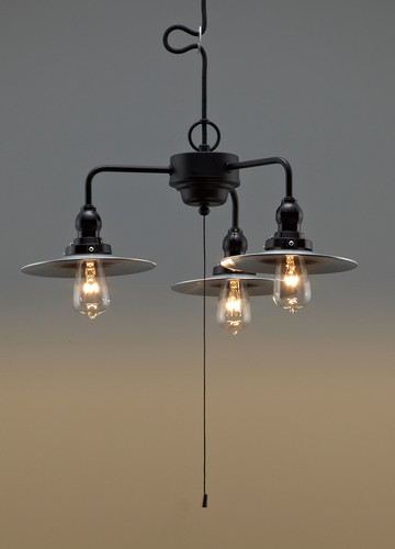 GLF-3142X [ GLF3142X ]【後藤照明】アルミP1レプリカ・3灯用CP型 電球なし【返品種別B】