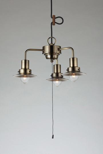【法人限定】GLF-3464X [ GLF3464X ]【後藤照明】キリマンジャロ(アルミP1S生地・3灯用CP型BR)電球なし【返品種別B】