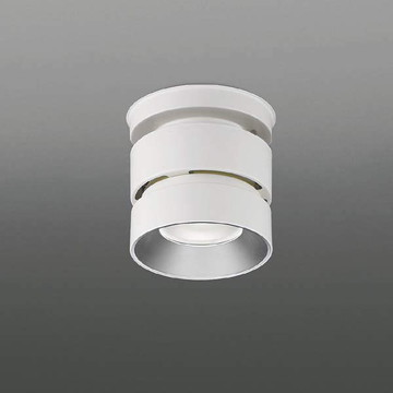 XH91154L【コイズミ照明】LEDシーリングダウンライト本体:アルミダイカスト・ファインホワイト塗装パネル:アクリル・乳白色コーン:アルミ・銀色鏡面【返品種別B】