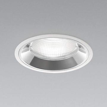【法人限定】XD91238L【コイズミ照明】LEDダウンライト枠:アルミダイカスト・ファインホワイト塗装パネル:ポリカーボネート・透明コーン:アルミ・銀色鏡面【返品種別B】