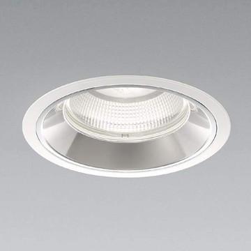 【法人限定】XD91243L【コイズミ照明】LEDダウンライト枠:アルミダイカスト・ファインホワイト塗装パネル:ガラス・透明コーン:アルミ・銀色鏡面【返品種別B】