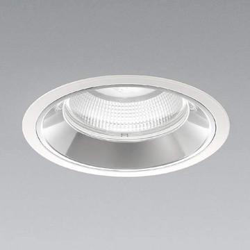 XD91244L【コイズミ照明】LEDダウンライト枠:アルミダイカスト・ファインホワイト塗装パネル:ガラス・透明コーン:アルミ・銀色鏡面【返品種別B】