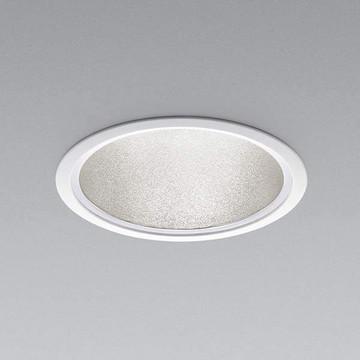 XD91304L【コイズミ照明】LEDダウンライト枠:アルミダイカスト・ファインホワイト塗装パネル:ポリカーボネート・透明消しコーン:アルミ・銀色・梨地仕上げ【返品種別B】