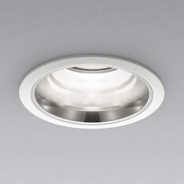 XD91336L【コイズミ照明】LEDダウンライト枠:アルミダイカスト・ファインホワイト塗装パネル:アクリル・透明消しコーン:アルミ・銀色鏡面【返品種別B】