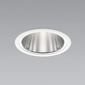 XD91487L【コイズミ照明】LEDダウンライト枠:アルミダイカスト・ファインホワイト塗装パネル:アクリル・乳白色コーン:アルミ・銀色鏡面【返品種別B】