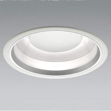 【法人限定】XD91812L【コイズミ照明】LEDダウンライト枠:鋼板・マットホワイト塗装パネル:ガラス・透明コーン:アルミ・銀色消し・一部鏡面【返品種別B】