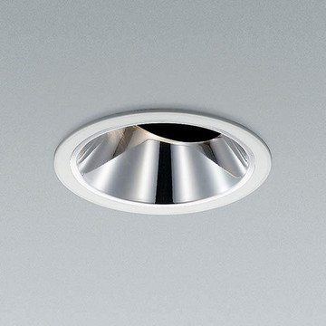 XD91750L【コイズミ照明】LEDユニバーサル枠:アルミダイカスト・ファインホワイト塗装本体:アルミダイカストコーン:銀色鏡面【返品種別B】