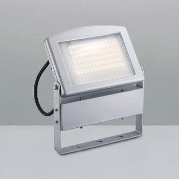 XU39026L【コイズミ照明】LED防雨型スポット本体:アルミダイカスト・シルバー塗装前面ガラス:強化ガラス・透明消し【返品種別B】