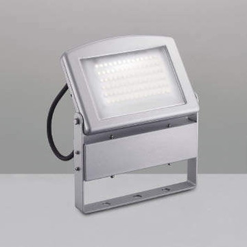 XU39027L【コイズミ照明】LED防雨型スポット本体:アルミダイカスト・シルバー塗装前面ガラス:強化ガラス・透明消し【返品種別B】
