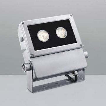 XU44174L【コイズミ照明】LED防雨型スポット本体:アルミダイカスト・シルバー塗装前面ガラス:強化ガラス・透明部分印刷【返品種別B】