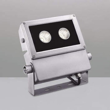 【法人限定】XU44177L【コイズミ照明】LED防雨型スポット本体:アルミダイカスト・シルバー塗装前面ガラス:強化ガラス・透明部分印刷【返品種別B】