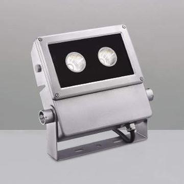 【法人限定】XU44180L【コイズミ照明】LED防雨型スポット本体:アルミダイカスト・シルバー塗装前面ガラス:強化ガラス・透明部分印刷【返品種別B】
