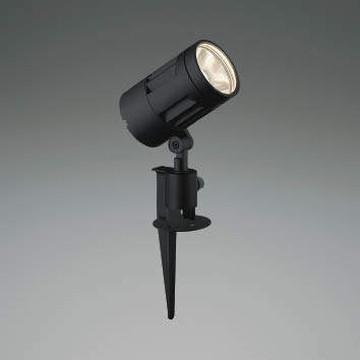 XU44262L【コイズミ照明】LED防雨型スポット本体:アルミダイカスト・黒色塗装前面ガラス:強化ガラス・透明スパイク:アルミダイカスト・黒色塗装【返品種別B】