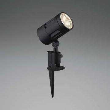 XU44315L【コイズミ照明】LED防雨型スポット本体:アルミダイカスト・黒色塗装前面ガラス:強化ガラス・透明スパイク:アルミダイカスト・黒色塗装【返品種別B】