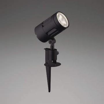 【法人限定】XU44319L【コイズミ照明】LED防雨型スポット本体:アルミダイカスト・黒色塗装前面ガラス:強化ガラス・透明スパイク:アルミダイカスト・黒色塗装【返品種別B】