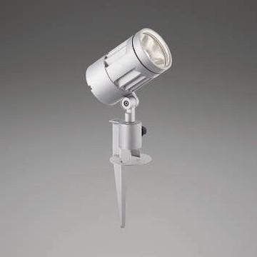 【法人限定】XU44326L【コイズミ照明】LED防雨型スポット本体:アルミダイカスト・シルバー塗装前面ガラス:強化ガラス・透明スパイク:アルミダイカスト・シルバー塗装【返品種別B】