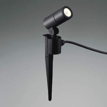 XU48096L【コイズミ照明】LED防雨型スポット本体:アルミダイカスト・黒色塗装前面ガラス:強化ガラス・透明スパイク:アルミダイカスト・黒色塗装【返品種別B】