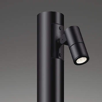XU48110L【コイズミ照明】LED防雨型スポット本体:アルミダイカスト・黒色塗装前面ガラス:強化ガラス・透明【返品種別B】