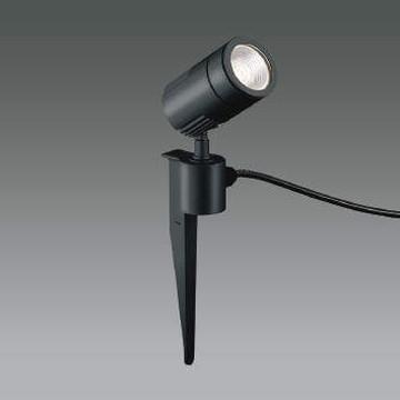 XU49886L【コイズミ照明】LED防雨型スポット本体:アルミダイカスト・黒色塗装前面ガラス:強化ガラス・透明スパイク:アルミダイカスト・黒色塗装【返品種別B】