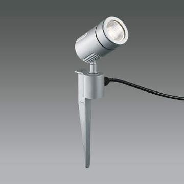 XU49891L【コイズミ照明】LED防雨型スポット本体:アルミダイカスト・シルバー塗装前面ガラス:強化ガラス・透明スパイク:アルミダイカスト・シルバー塗装【返品種別B】