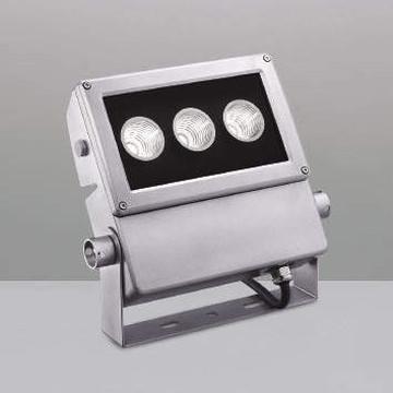 【法人限定】XU49909L【コイズミ照明】LED防雨型スポット本体:アルミダイカスト・シルバー塗装前面ガラス:強化ガラス・透明部分印刷【返品種別B】