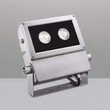 XU49927L【コイズミ照明】LED防雨型スポット本体:アルミダイカスト・シルバー塗装前面ガラス:強化ガラス・透明部分印刷【返品種別B】