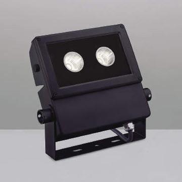 【法人限定】XU49933L【コイズミ照明】LED防雨型スポット本体:アルミダイカスト・黒色塗装前面ガラス:強化ガラス・透明部分印刷【返品種別B】