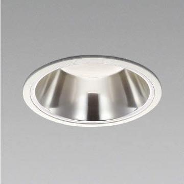 XD91308L【コイズミ照明】LED防雨型ダウン枠:アルミダイカスト・ファインホワイト塗装パネル:アクリル・透明消しコーン:アルミ・銀色鏡面【返品種別B】