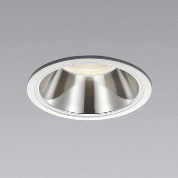 XD91549L【コイズミ照明】LED防雨型ダウン枠:アルミダイカスト・ファインホワイト塗装パネル:アクリル・透明消しコーン:アルミ・銀色鏡面【返品種別B】