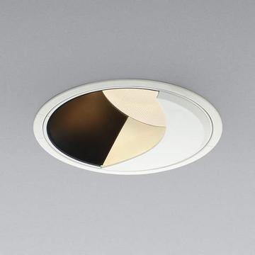 【法人限定】XD91806L【コイズミ照明】LED防雨型ダウン枠:アルミダイカスト・ファインホワイト塗装パネル:アクリル・透明消しコーン:アルミダイカスト・マットブラック塗装【返品種別B】