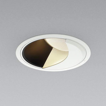 XD91810L【コイズミ照明】LED防雨型ダウン枠:アルミダイカスト・ファインホワイト塗装パネル:アクリル・透明消しコーン:アルミダイカスト・マットブラック塗装【返品種別B】