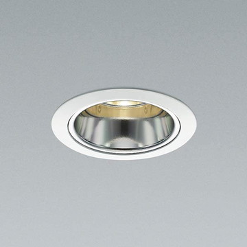 XD91625L【コイズミ照明】LED防雨防湿ダウン枠:アルミダイカスト・ファインホワイト塗装コーン:アルミ・銀色鏡面前面パネル:強化ガラス・透明【返品種別B】