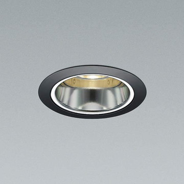 XD91626L【コイズミ照明】LED防雨防湿ダウン枠:アルミダイカスト・ブラック塗装コーン:アルミ・銀色鏡面前面パネル:強化ガラス・透明【返品種別B】