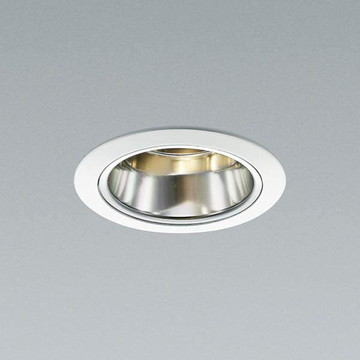 XD91629L【コイズミ照明】LED防雨防湿ダウン枠:アルミダイカスト・ファインホワイト塗装コーン:アルミ・銀色鏡面前面パネル:強化ガラス・透明【返品種別B】