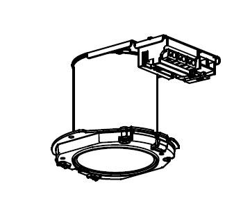 【三菱】EL-DU151NM AHZ [ ELDU151NMAHZ ]LEDベースダウンライト ライトユニットMCシリーズ クラス150 昼白色 一般タイプ業務用【返品種別B】