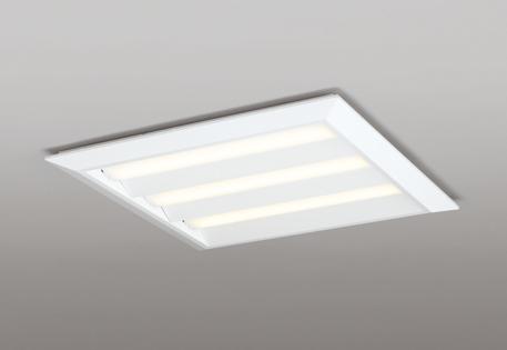 【法人限定】XL501014P1E オーデリック スクエアベースライト 直付埋込兼用 埋込穴680 非調光 電球色 FHP45W×3相当