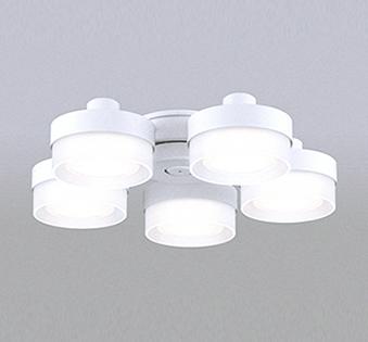 【法人限定】WF268NC【オーデリック】シーリングファン 灯具[薄型ガラスタイプ・5灯] 調光器不可WF237・239専用 ~6畳【返品種別B】