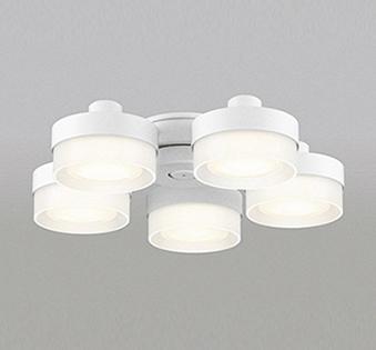 【法人限定】WF268PC【オーデリック】シーリングファン 灯具[薄型ガラスタイプ・5灯] 調光器不可WF237・239専用 ~8畳【返品種別B】