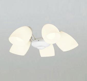 【法人限定】WF804LC1【オーデリック】シーリングファン 灯具[乳白ケシガラス・5灯] 調光器不可~6畳【返品種別B】